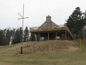1 Beaver Lodge - Front view from Ebor Park