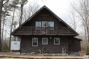 1 Major R.J. Black's Cabin - Front