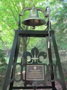 2 Scouter Bob's Bell - plaque