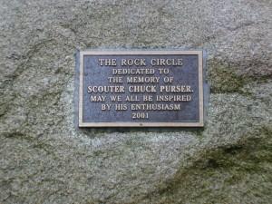 2 Council Rock - plaque